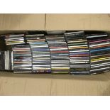 Four boxes of music CDs, various artists.