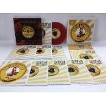 Two Elvis Presley limited edition Sun singles viny