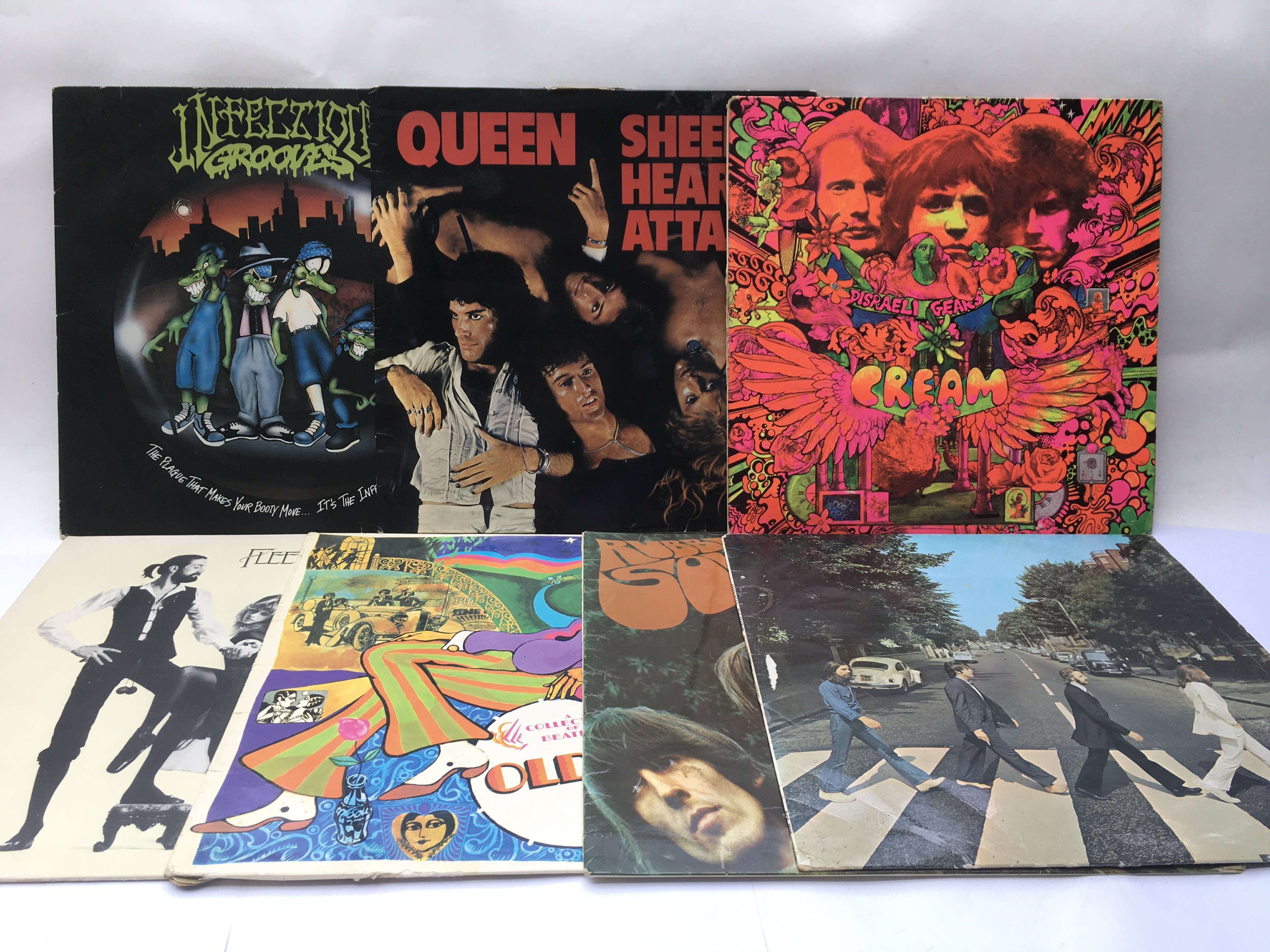 A collection of LPs comprising early UK pressings