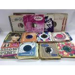 A collection of mainly rock n roll 7inch singles a