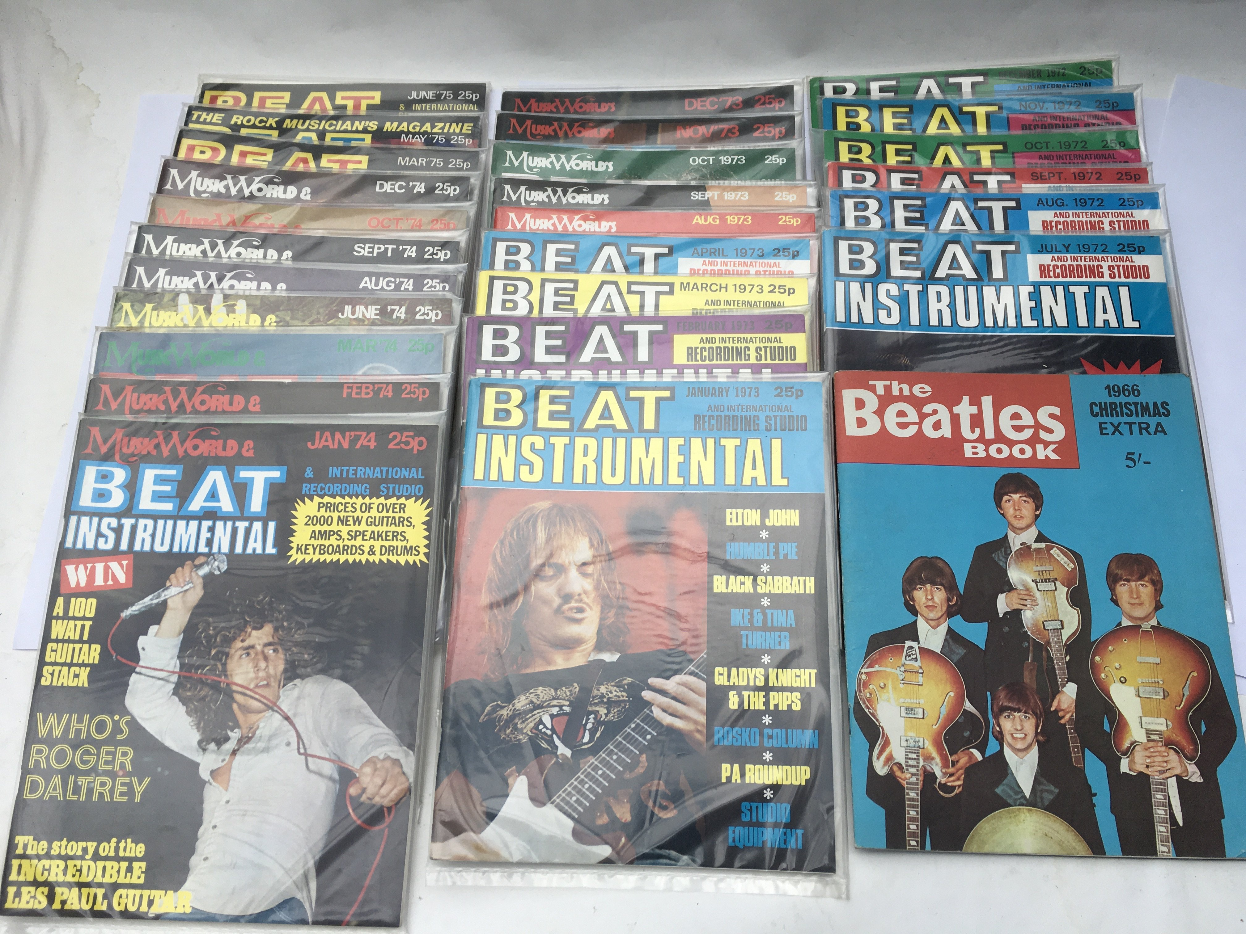 A collection of Beat Instrumental magazine from 19 - Image 2 of 3