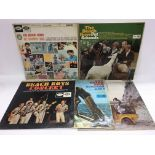 Five Beach Boys LPs comprising early pressings.