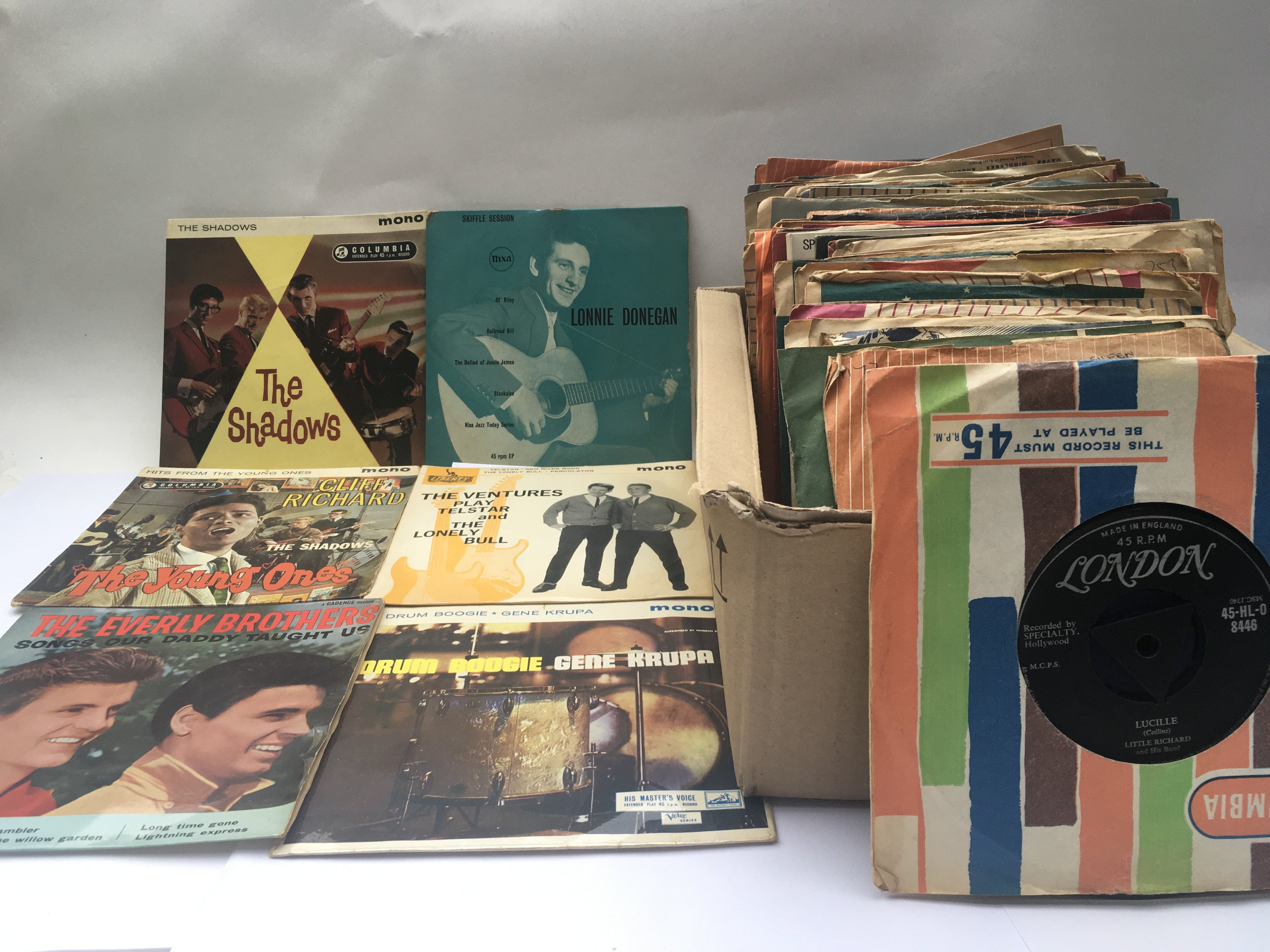 A collection of 7inch singles and EPs by various a
