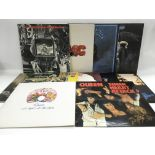 Eleven LPs by various artists including Queen, 10C