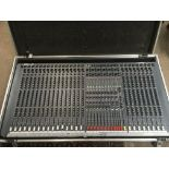 A Soundcraft Spirit Two 24 track mixing desk with