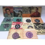 A collection of Elvis Presley 7inch singles and EP