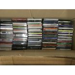 Four boxes of CDs, various artists.