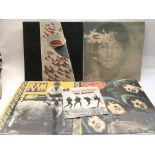 The first two Paul McCartney solo LPs plus 'Rubber