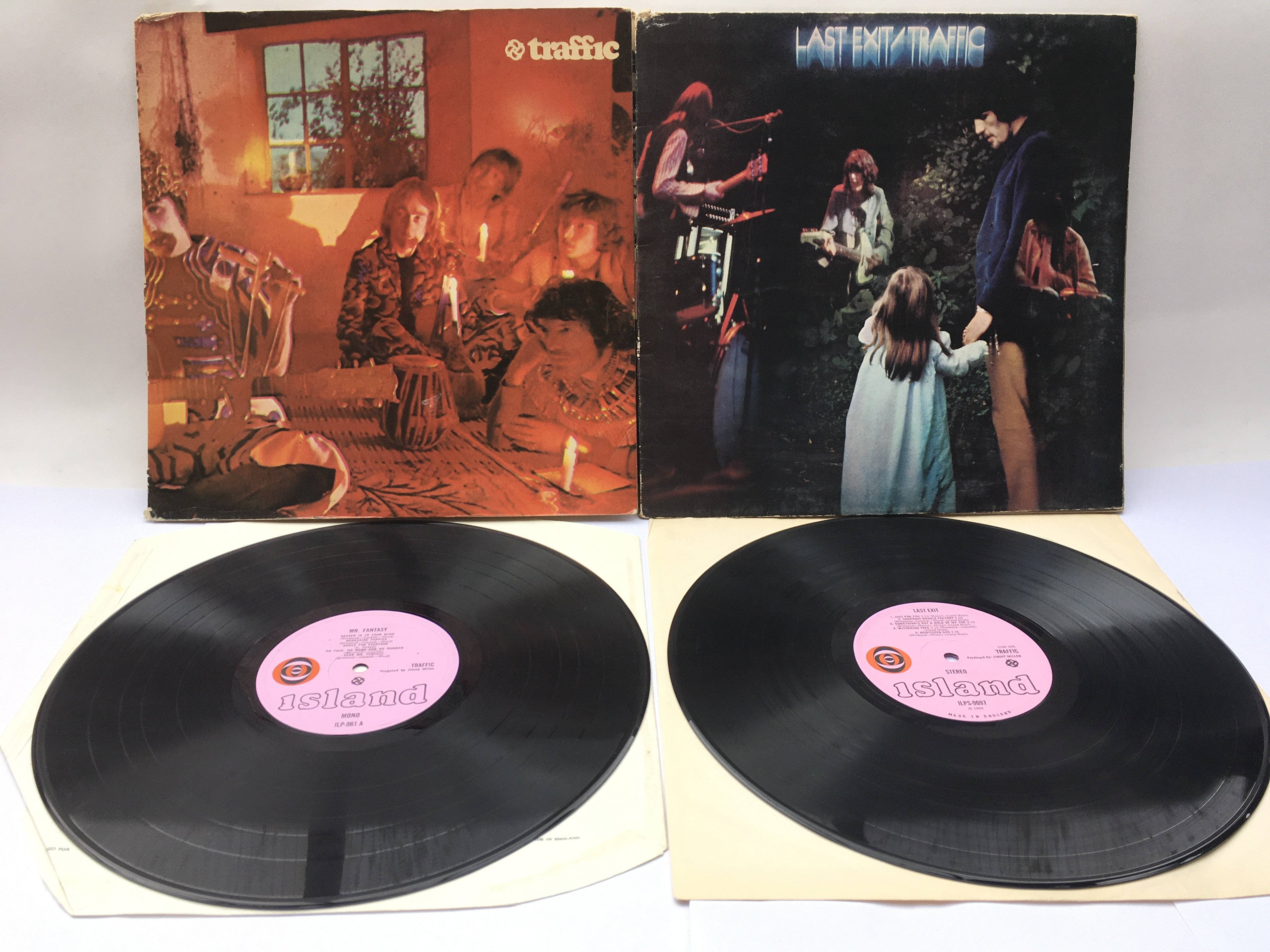 Two LPs by Traffic comprising a first UK pressing