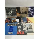 Eleven LPs by various artists including Amy Wineho