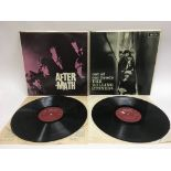 Two early UK pressings of Rolling Stones LPs compr