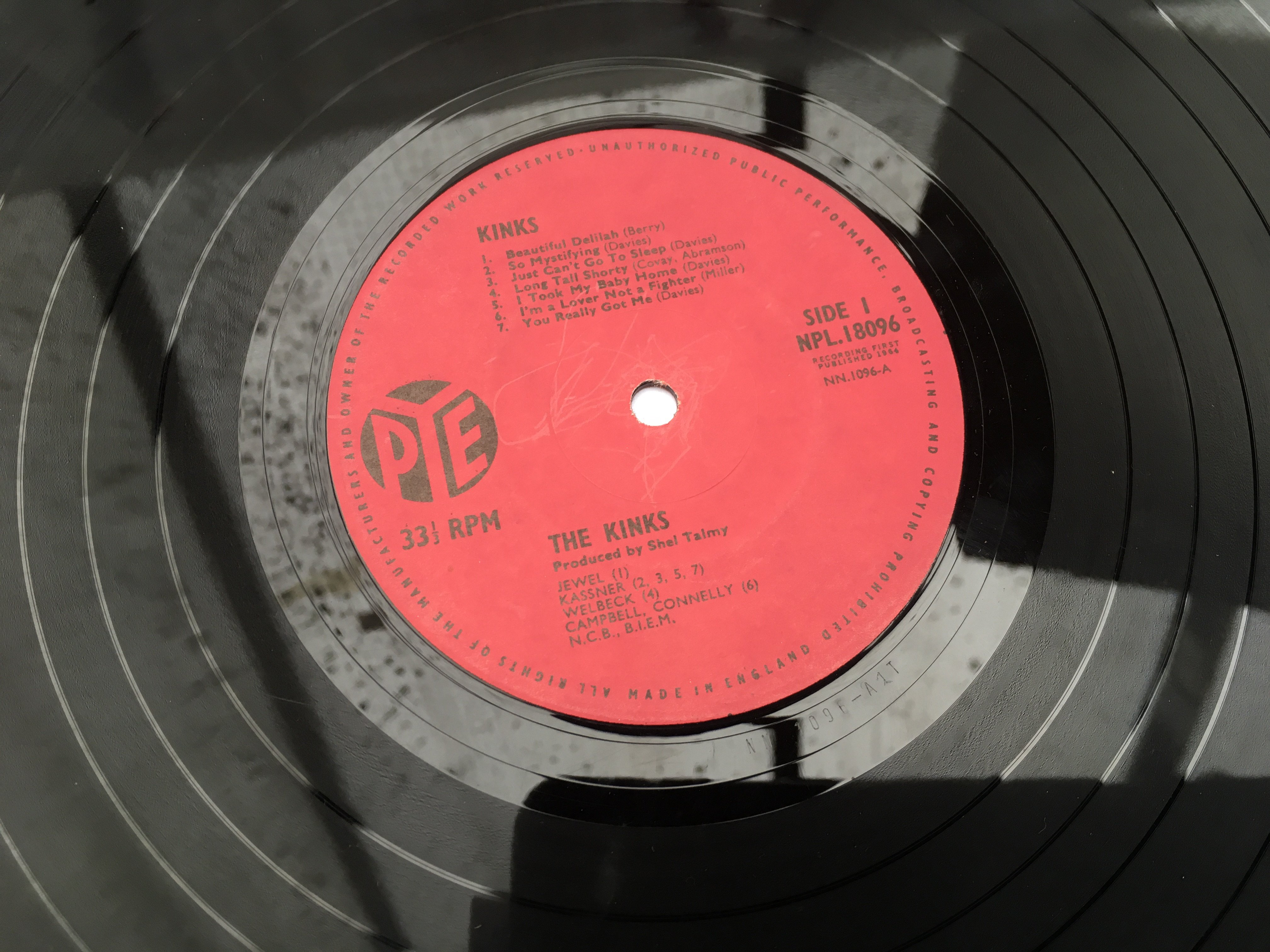 A first UK pressing of the Kinks debut LP, NPL.180 - Image 2 of 2