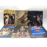Six Flying Burrito Brothers LPs.