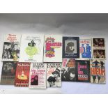 A collection of Beatles books including a signed A