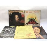 Thirteen reggae, dub and two tone LPs by various a