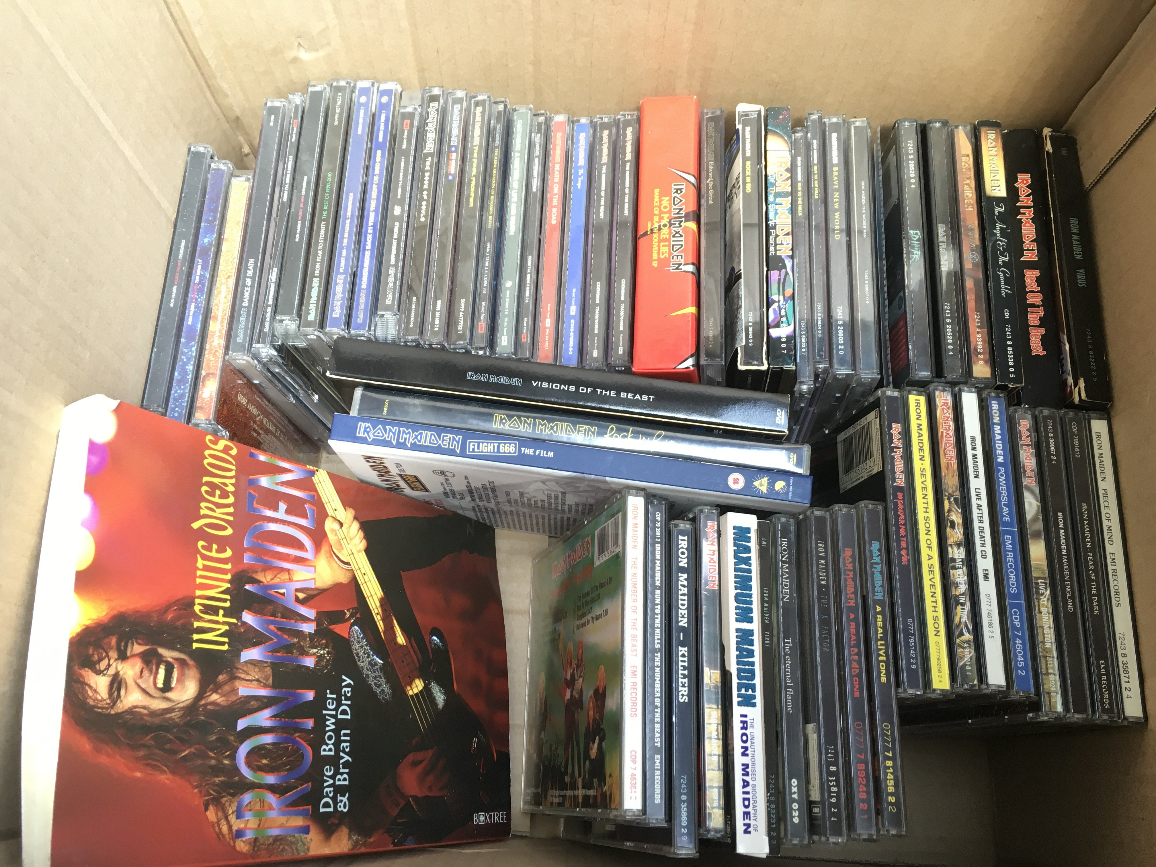 An Iron Maiden collection of LPs, picture discs, 7 - Image 2 of 2