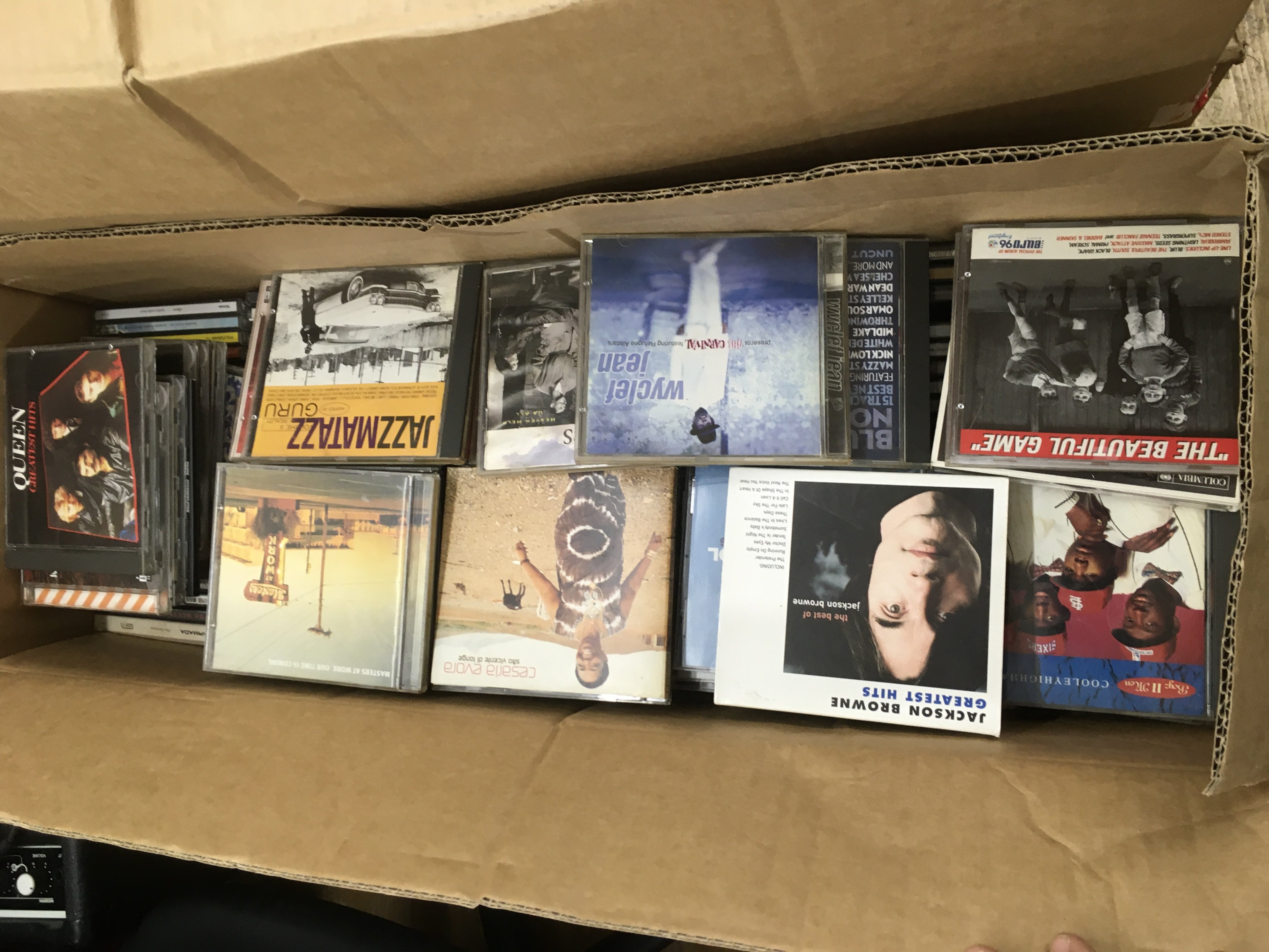 Four boxes of CDs, various artists. - Image 6 of 8