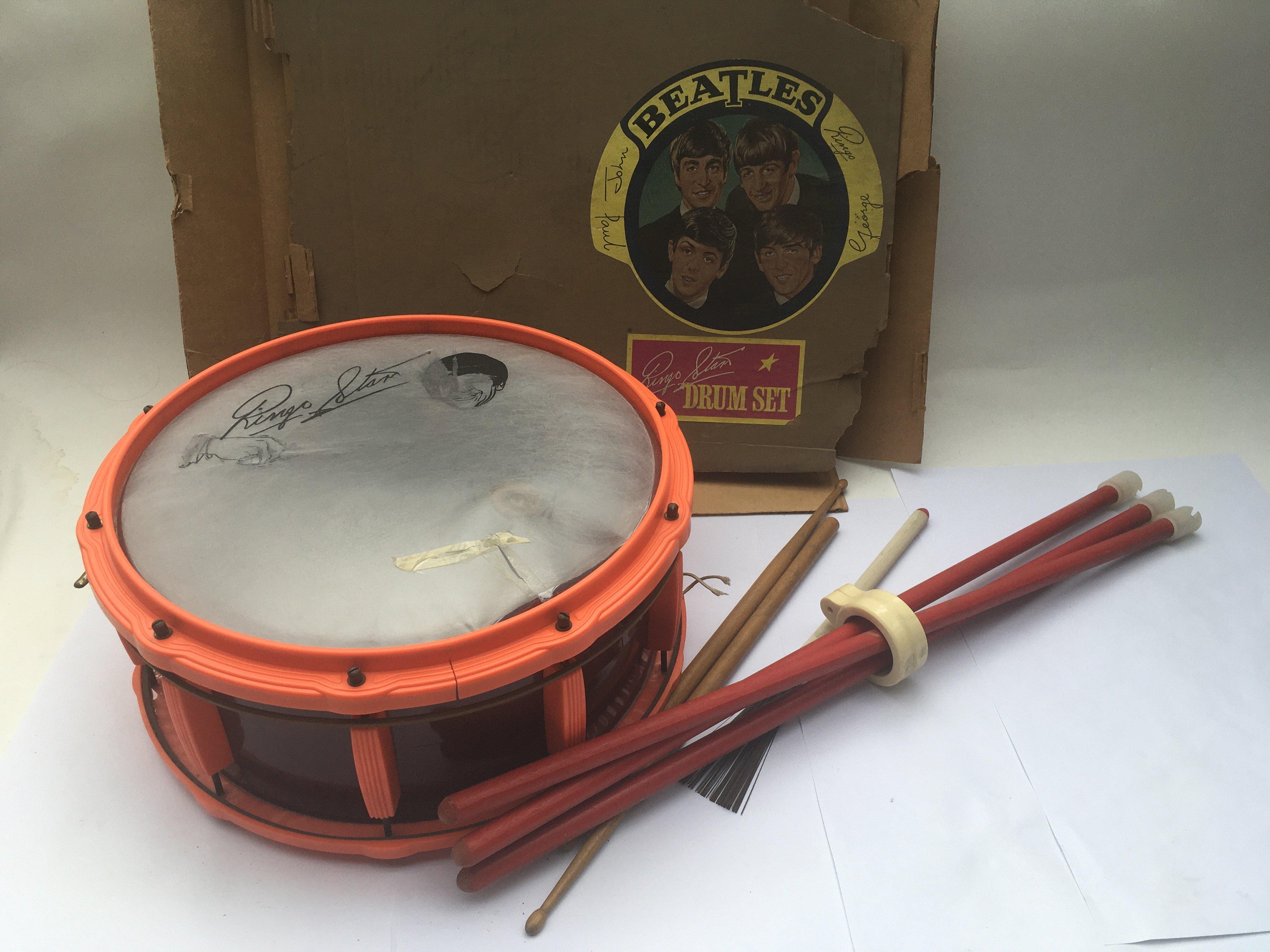 A Selcol New Beat Ringo Starr drum set.