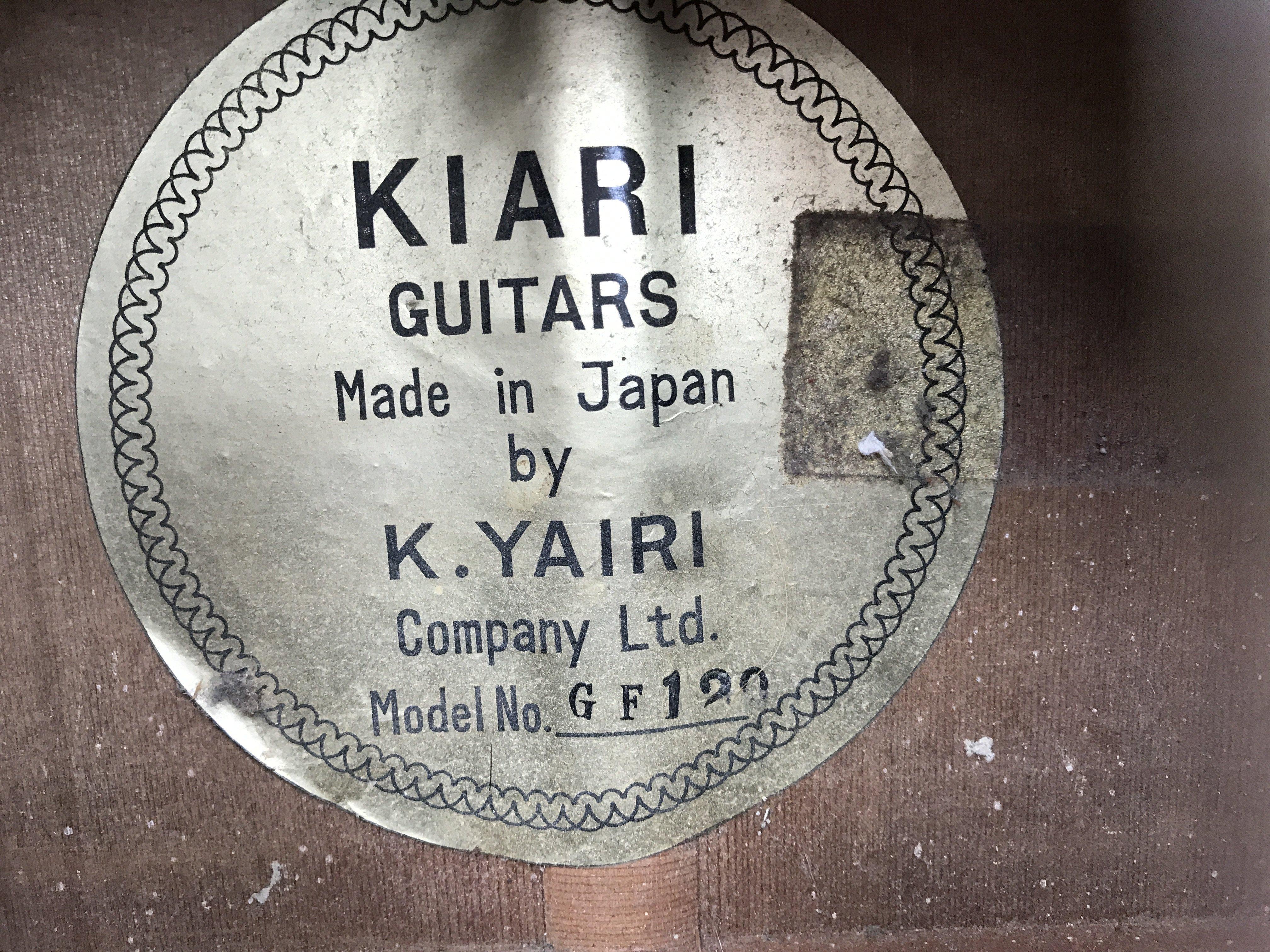 A vintage Japanese K Yairi Company Ltd acoustic cl - Image 2 of 4