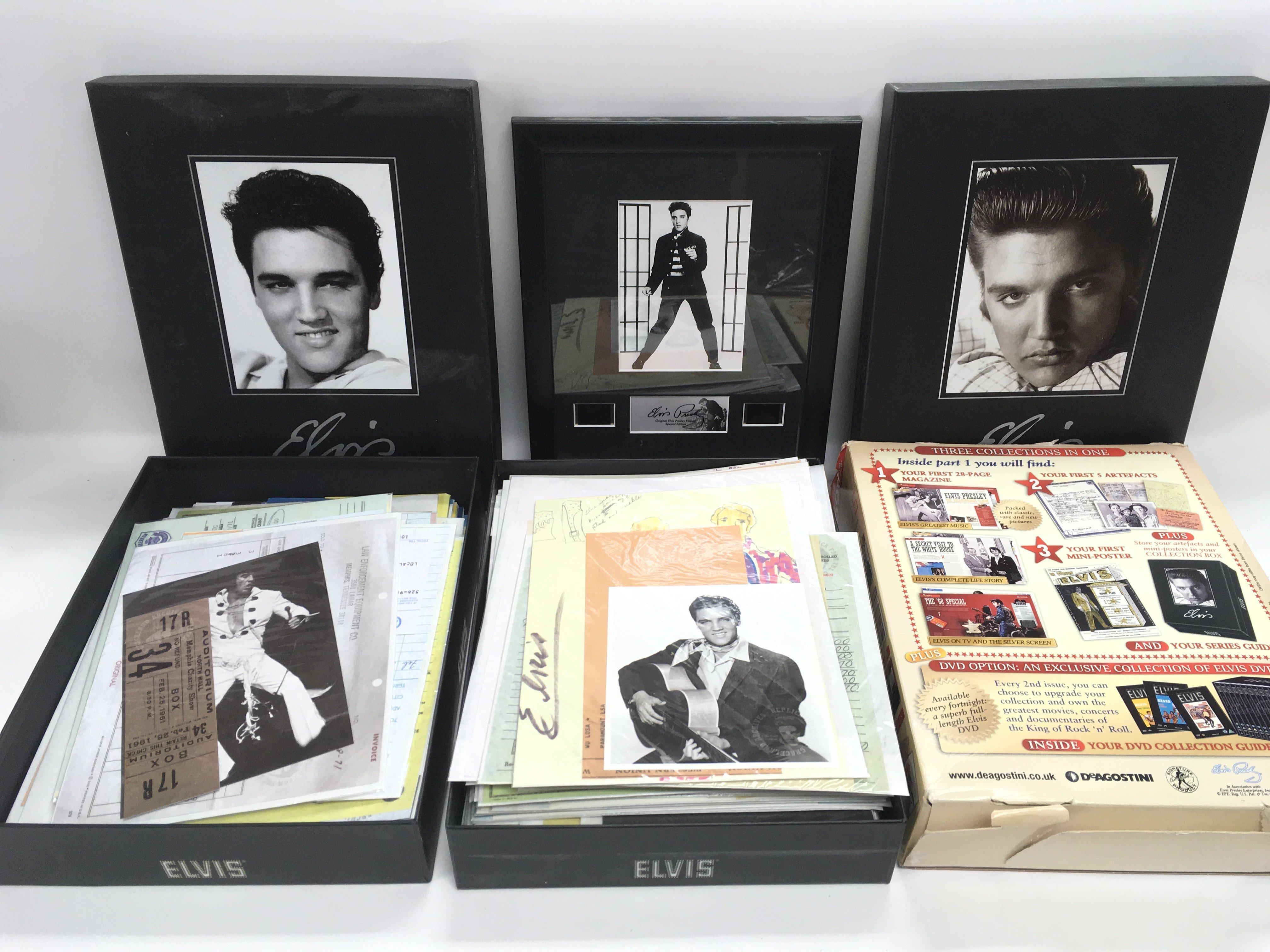 A collection of Elvis Presley memorabilia includin - Image 2 of 2