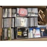 Two boxes of over 600 CDs, mainly country artists.