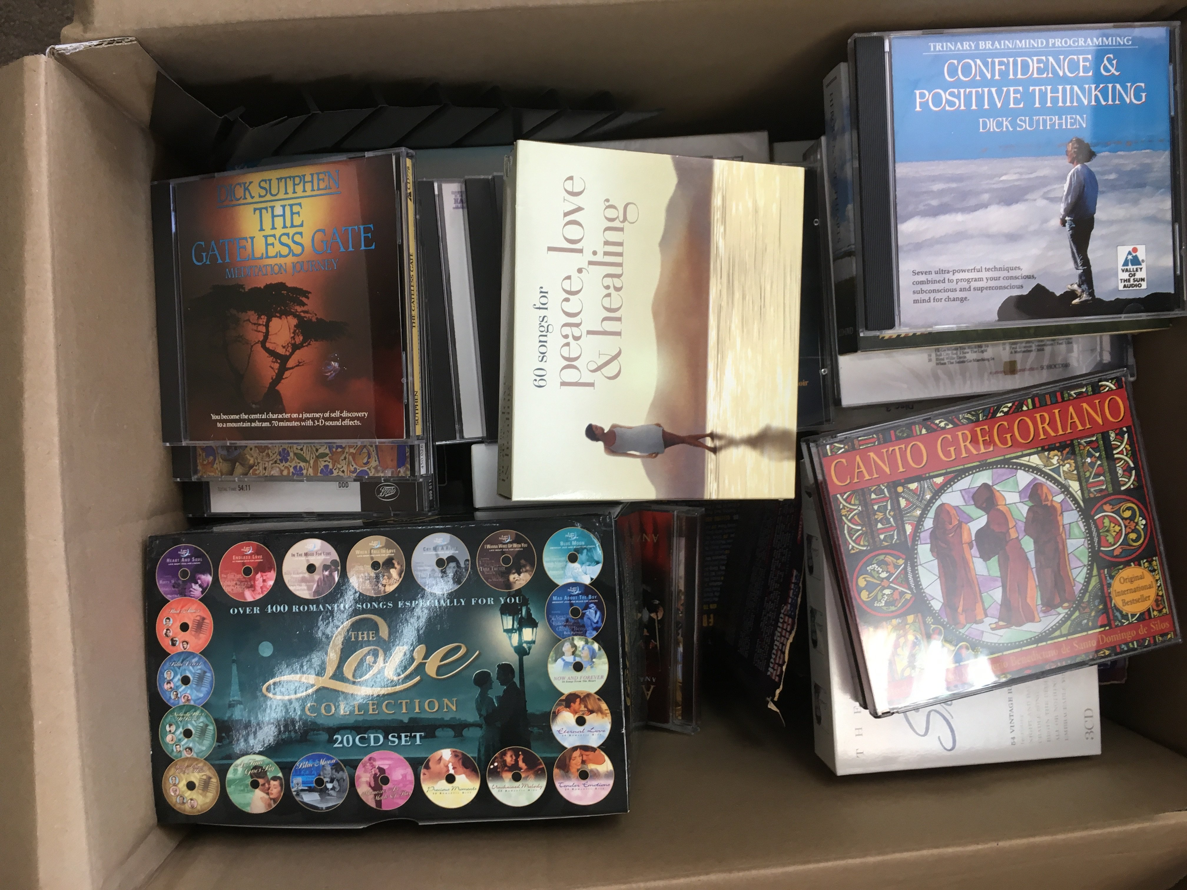 A large collection in seven boxes of CDs, various - Image 6 of 6