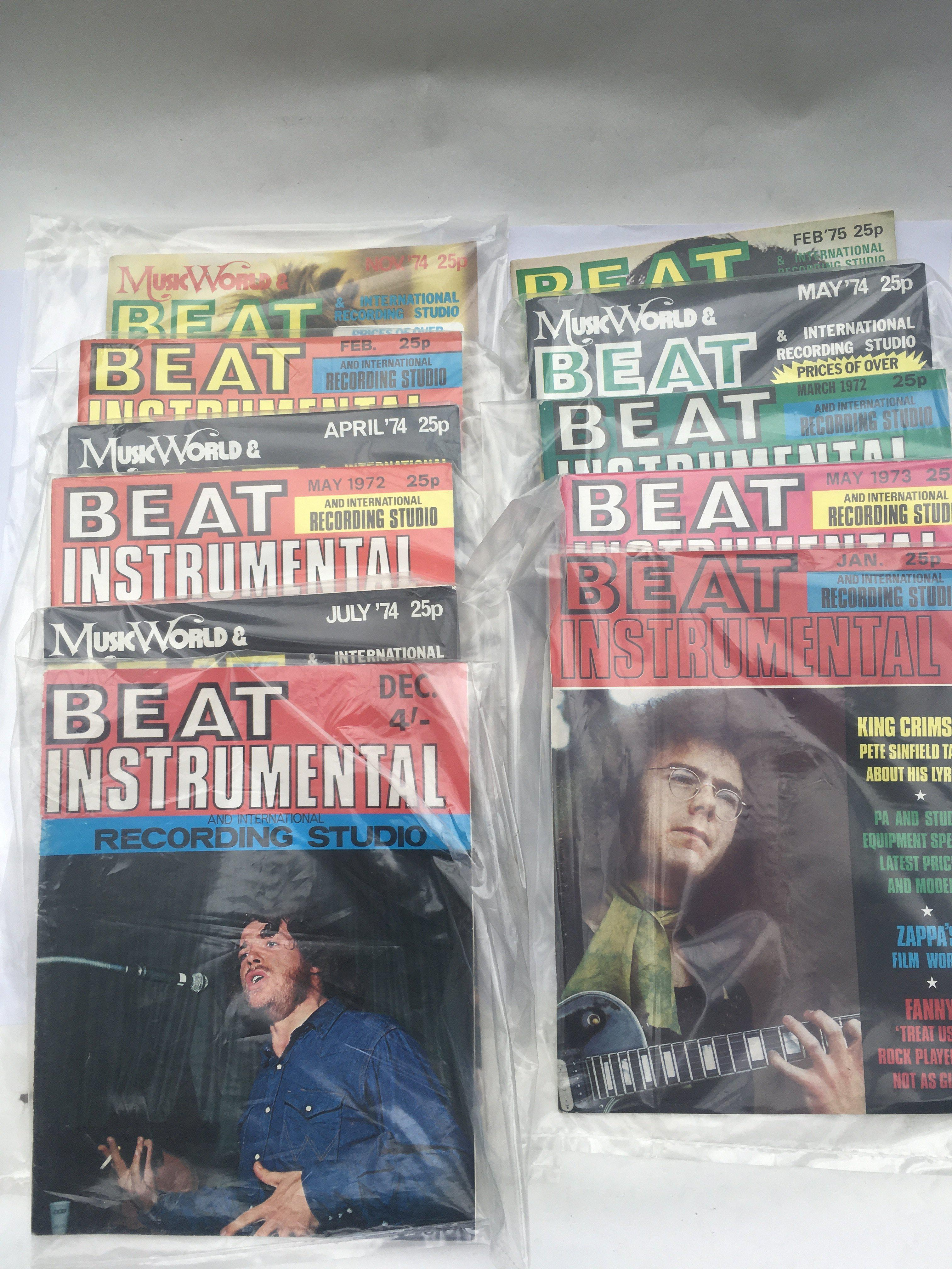A collection of Beat Instrumental magazine from 19 - Image 3 of 3