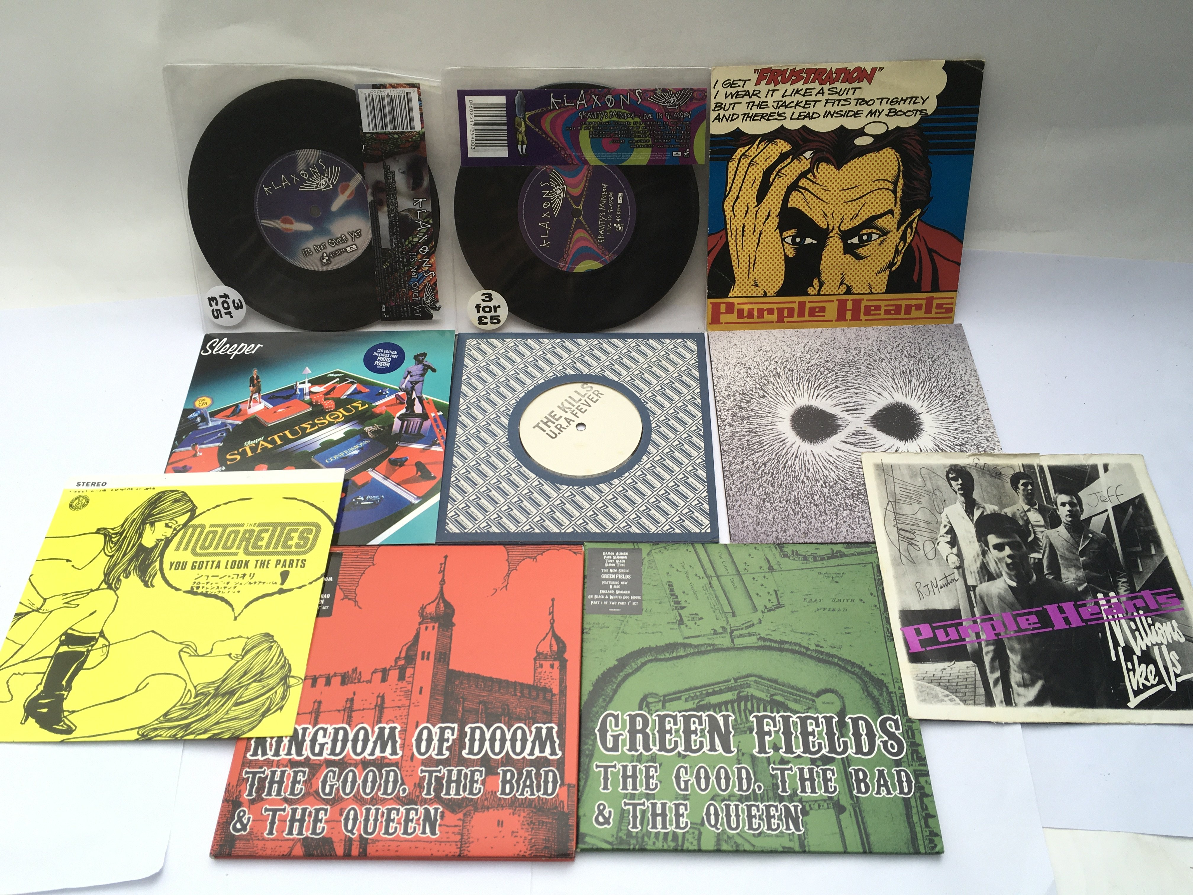 A small collection of indie alternative LPs, 12inc - Image 2 of 2