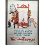 A UK one sheet film poster for 'Waltz Of The Torea