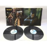 Two Tom Waits LPs comprising 'Blue Valentine' and