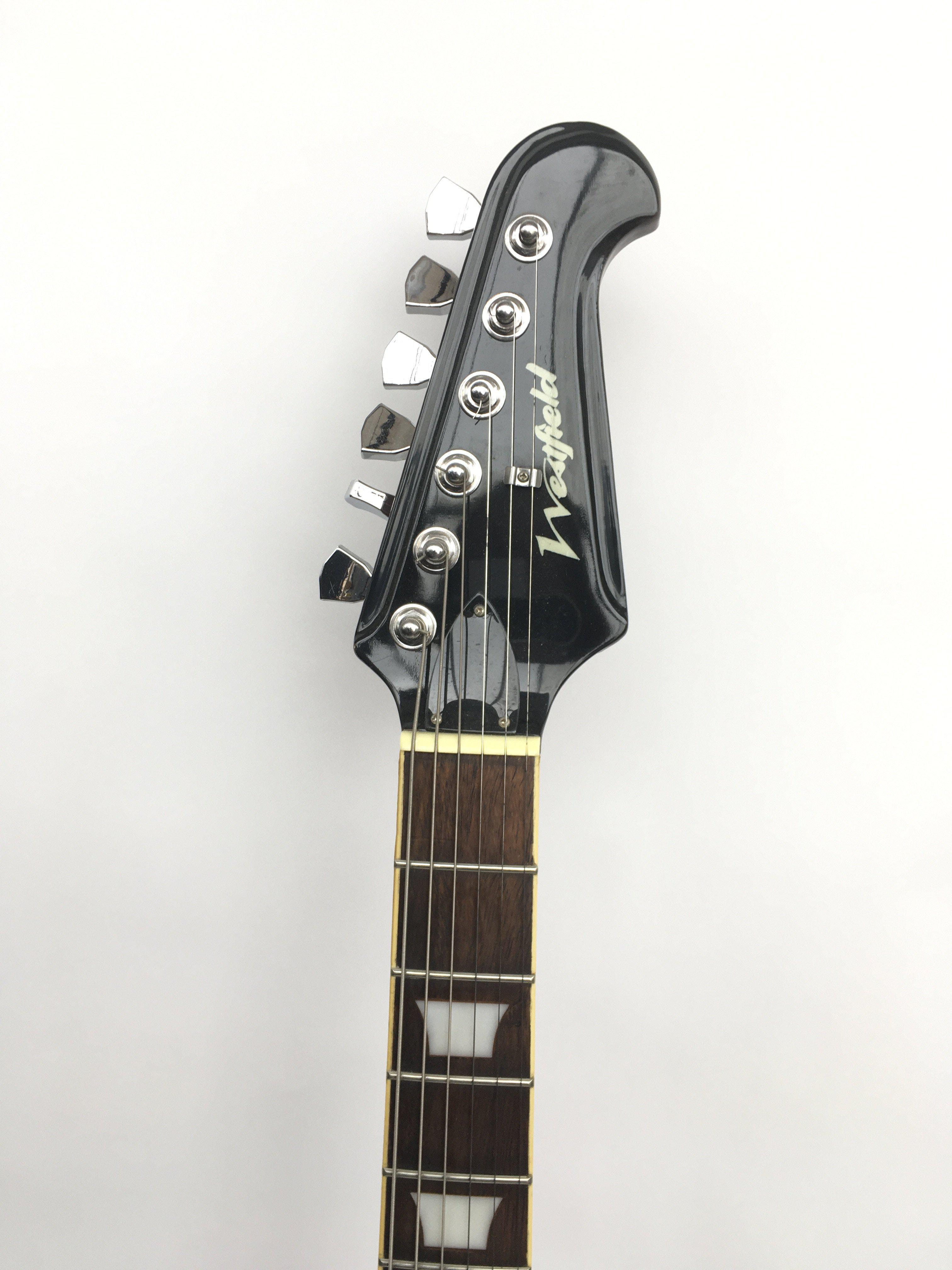 A Westfield 'Explorer' style electric guitar suppl - Image 2 of 3
