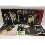 Nine soul LPs by various artists including Billy P