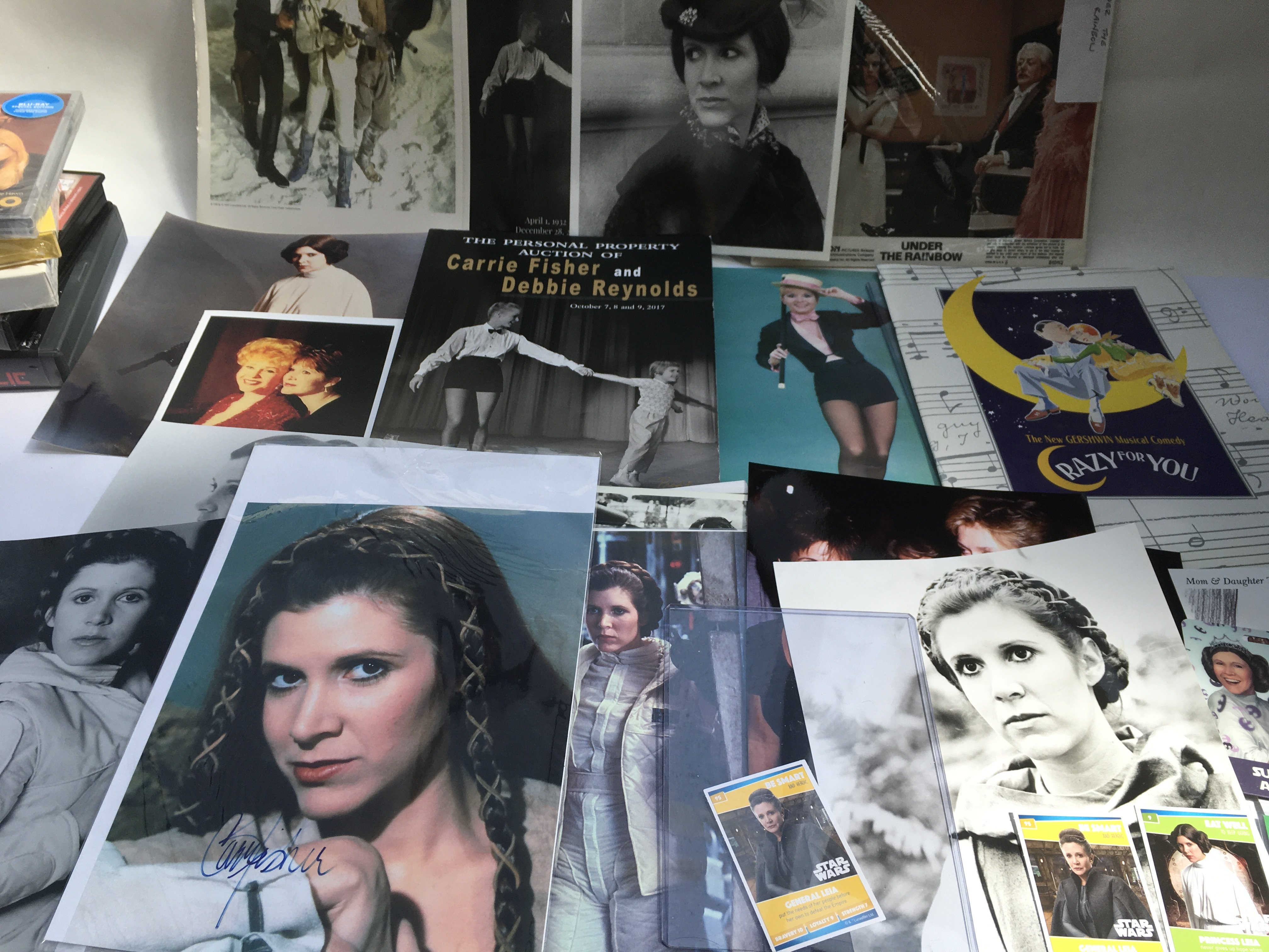 A collection of Carrie Fisher and Star Wars relate - Image 3 of 6