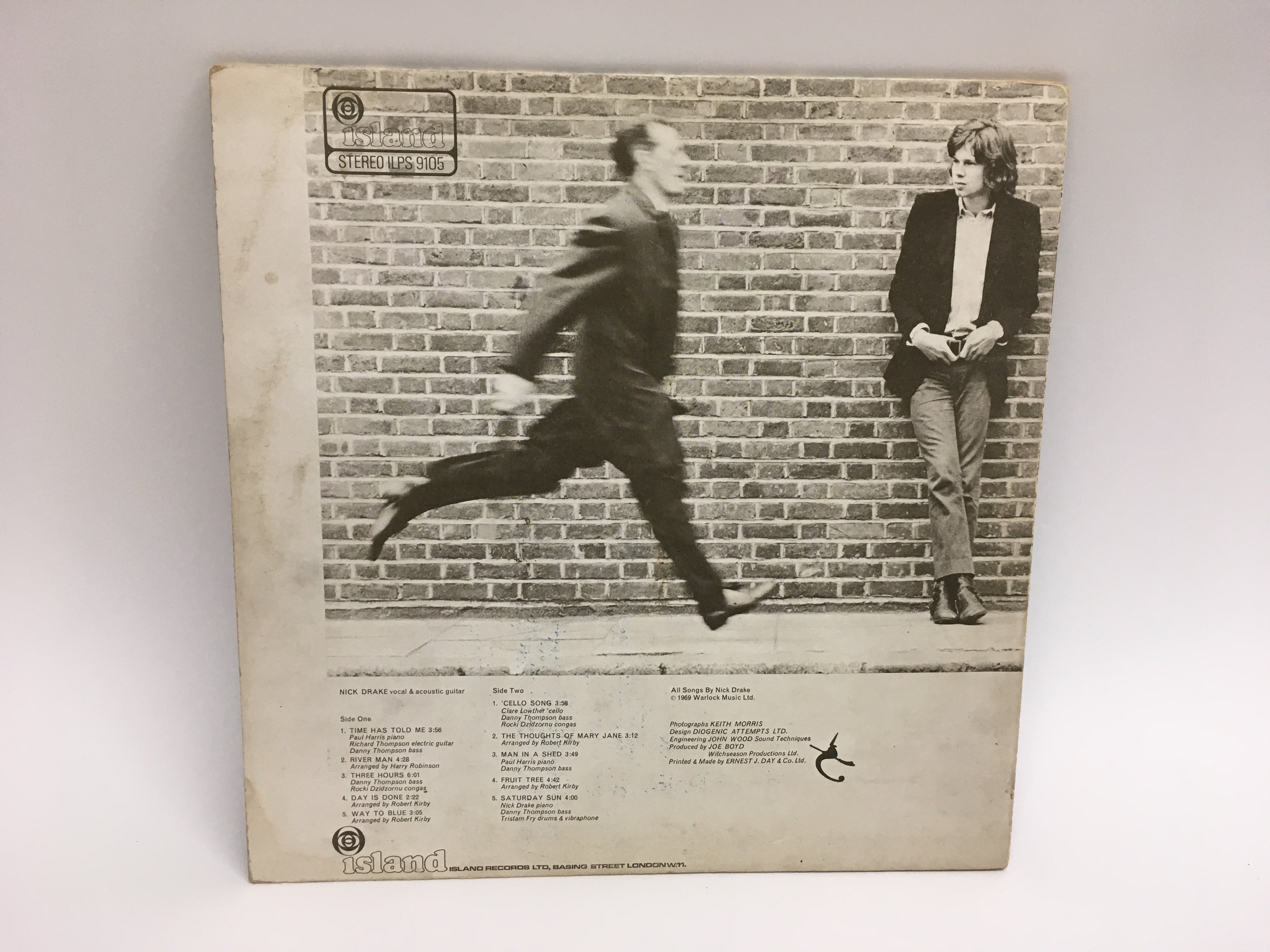 A first UK pressing of 'Five Leaves Left' by Nick - Image 4 of 6