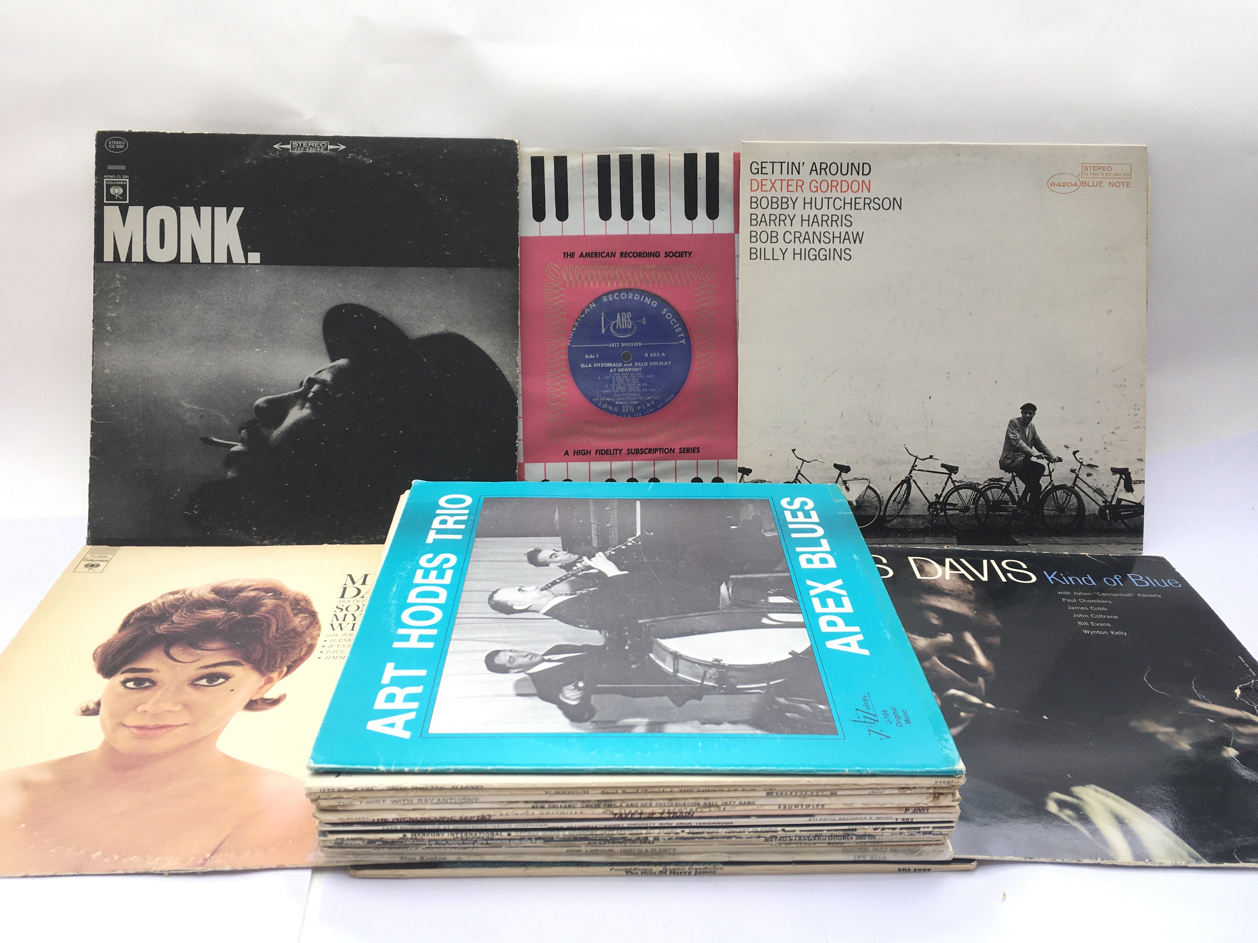 A collection in two bags of approx 23 jazz LPs by