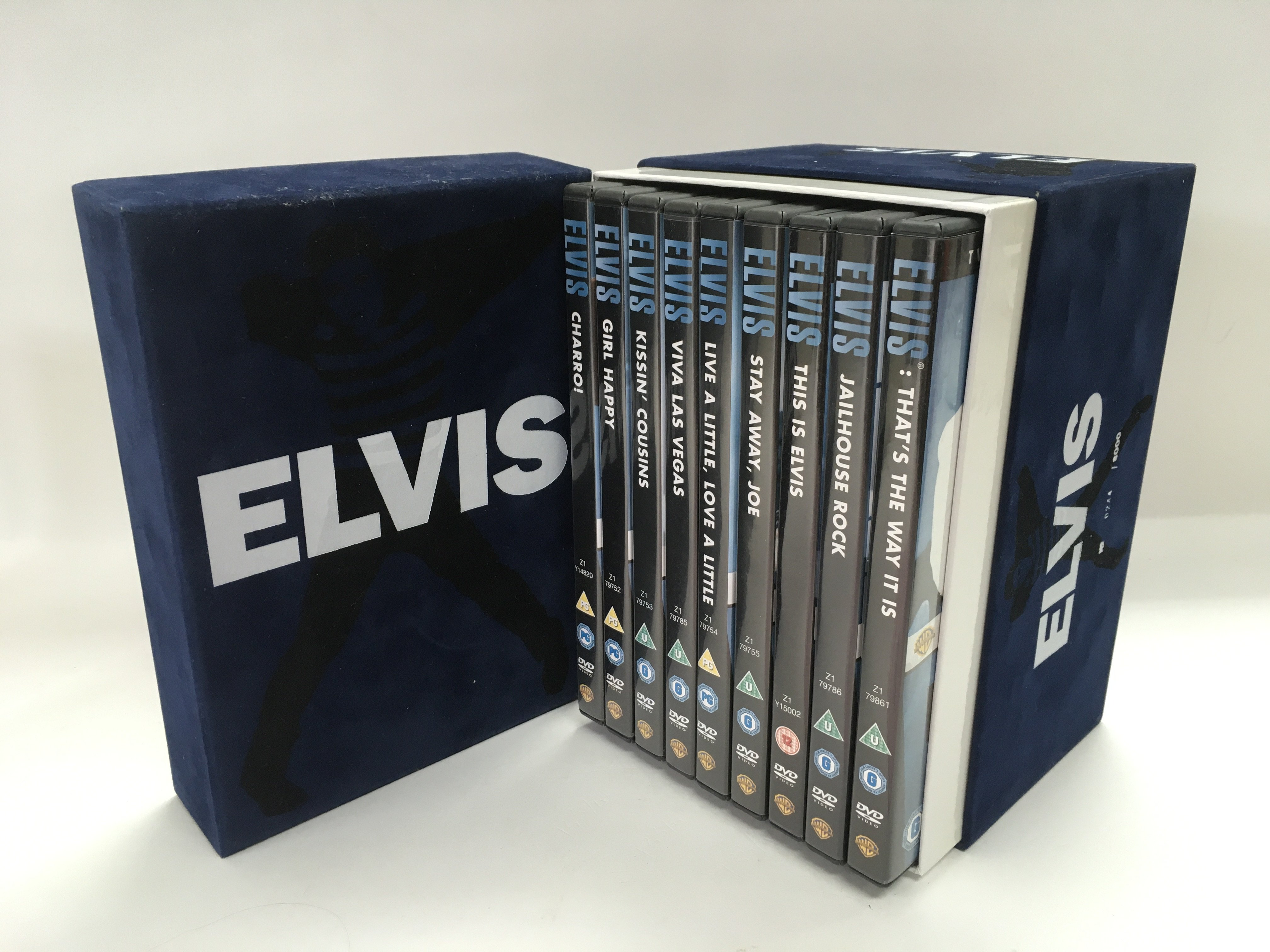 An Elvis Presley limited edition 11 disc DVD box s - Image 2 of 2