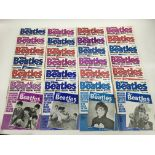 A collection of Beatles Book Monthly reissues, a 1