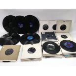A collection of circa 1960s 7inch singles and some