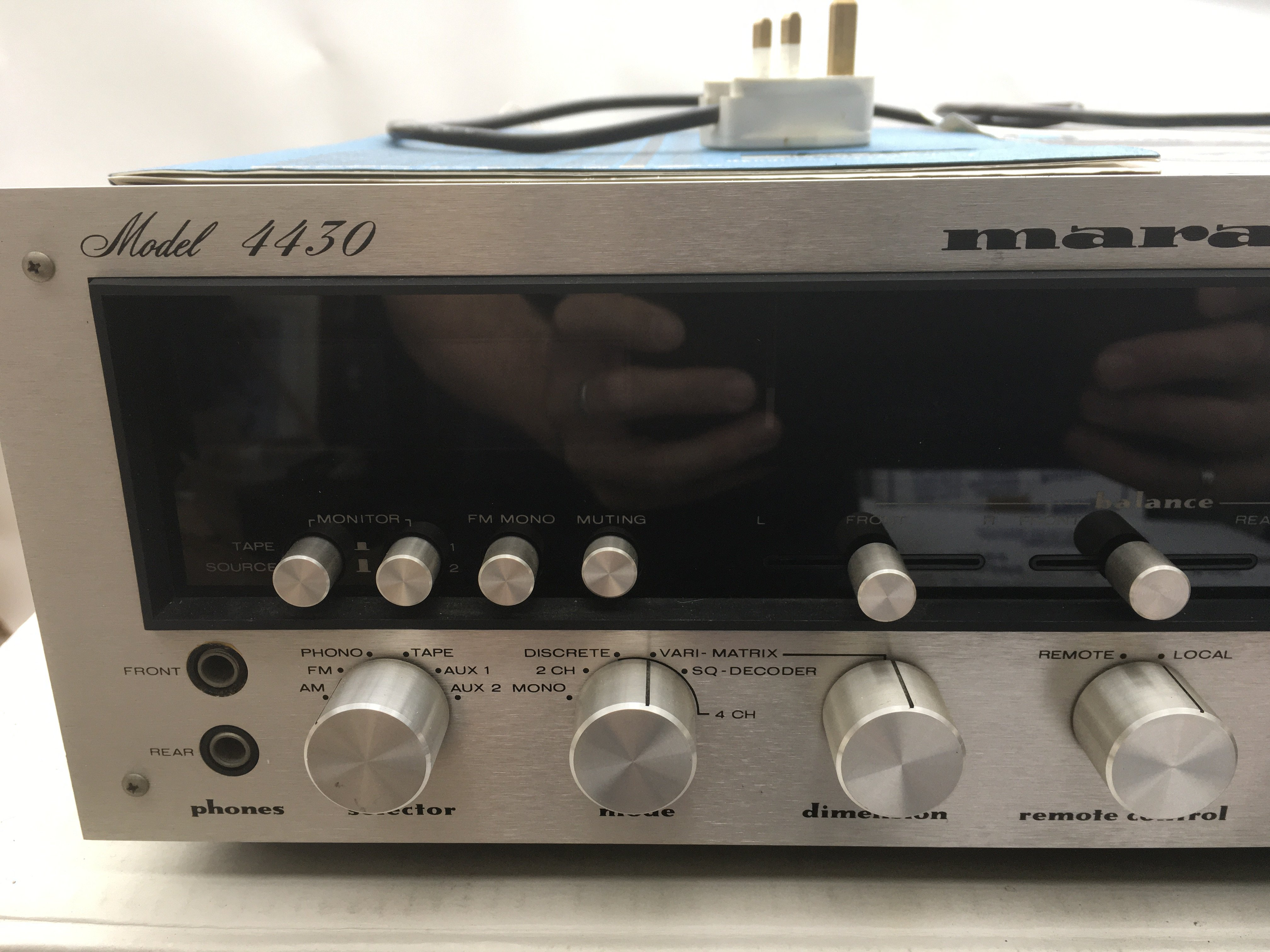 A boxed Marantz 4430 Quadradial stereo receiver wi - Image 2 of 4