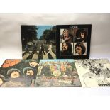 Five early UK issue Beatles LPs comprising 'Abbey