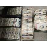 Five boxes of 7inch singles mainly from the 1970s