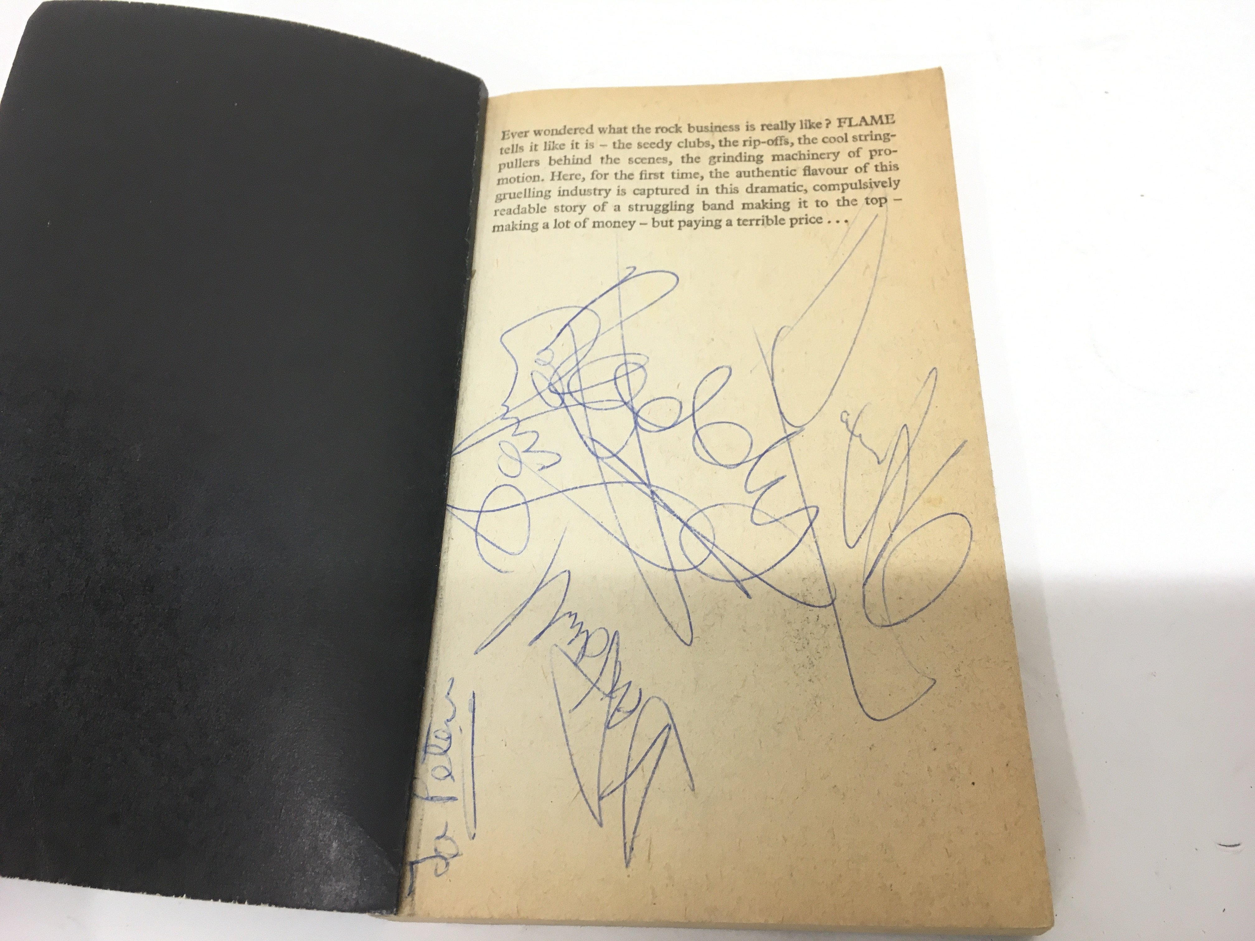 A fully signed 'Slade In Flame' paperback book. - Image 2 of 2