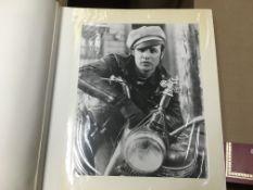 Nineteen binders of movie star publicity portraits