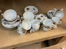 A large selection of Royal Worcester Evesham patte