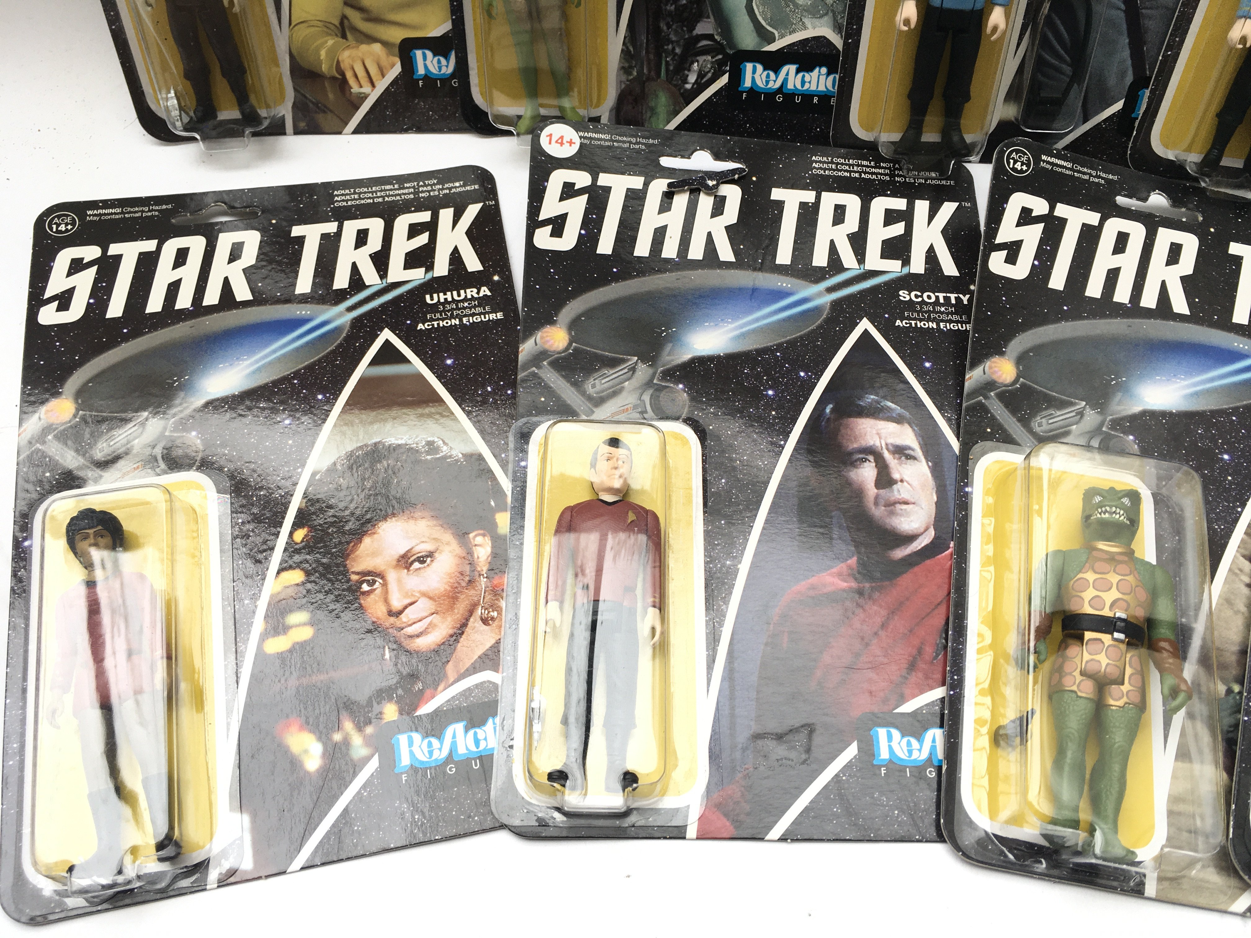 A Collection of ReAction Star Trek Figures. Includ - Image 4 of 5
