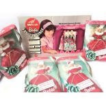 4 X Boxed Barbie 'Happy Holidays' and a Barbie