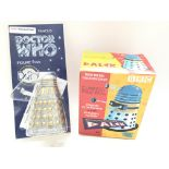 A Dapol Doctor Who Glitter and Gold Dalek and a Pr