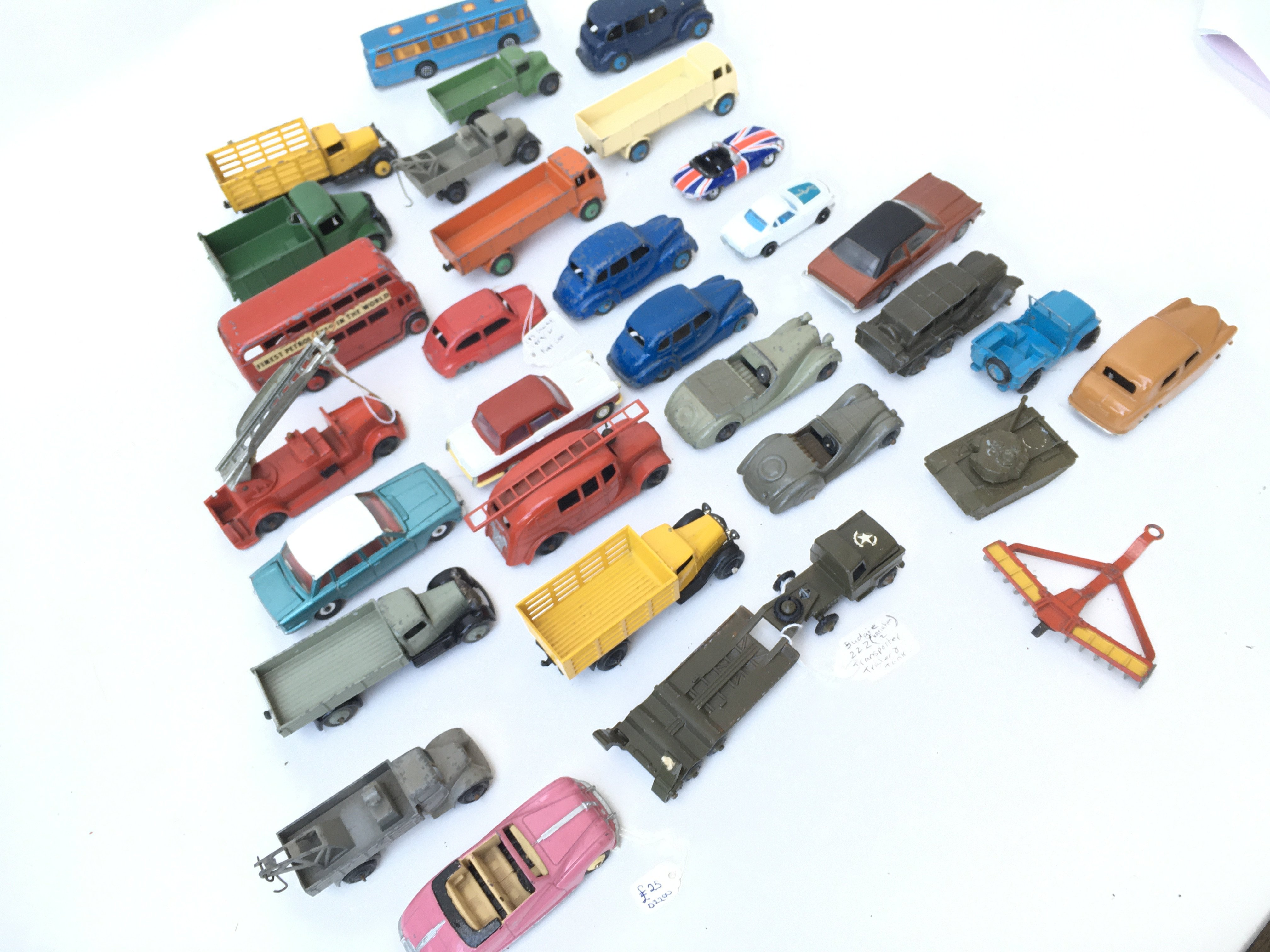 A Collection of Playworn Diecast Vehicles includin - Image 2 of 3