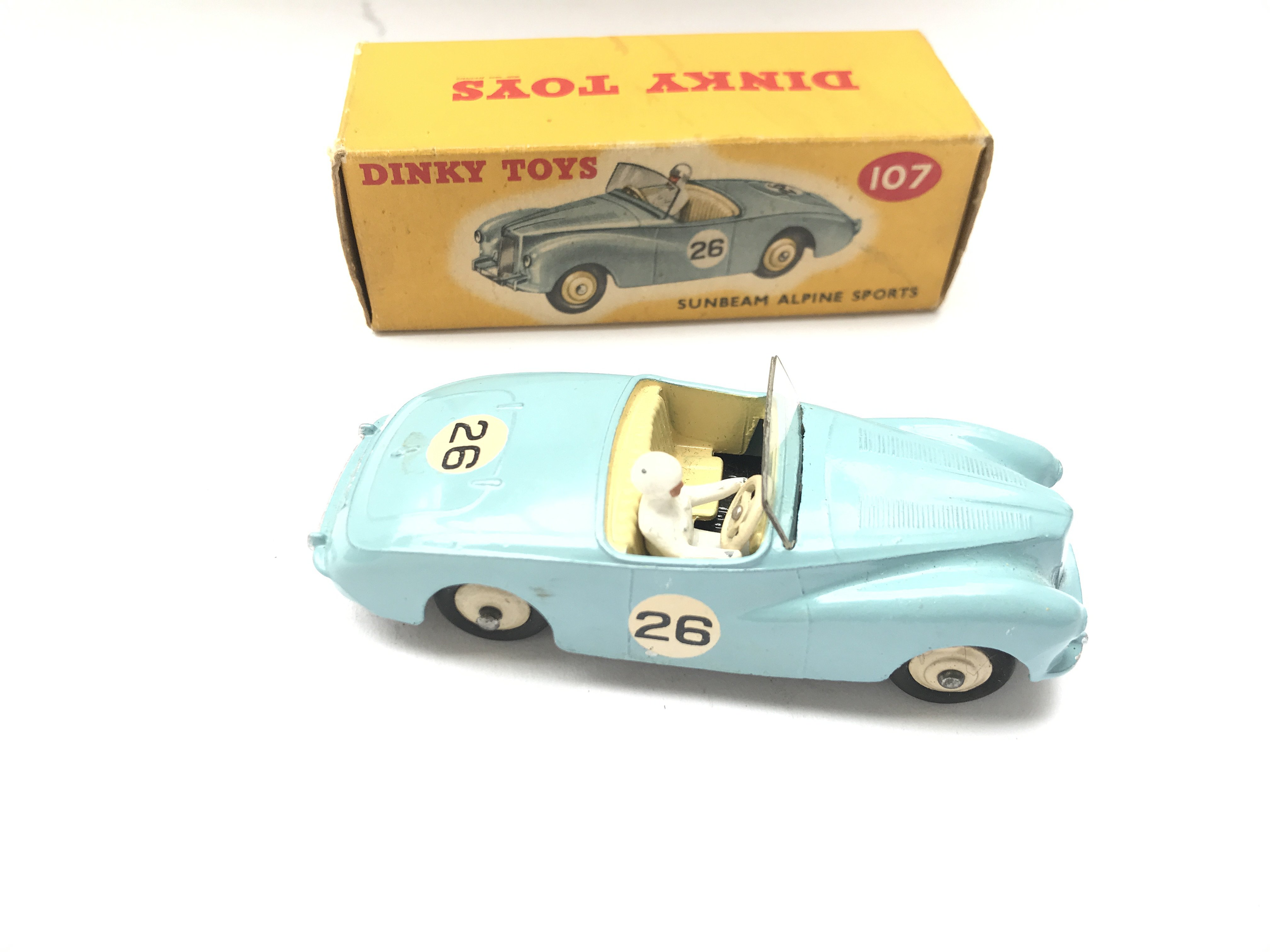 A Boxed Dinky Sunbeam Alpine Sports #107 - Image 2 of 3