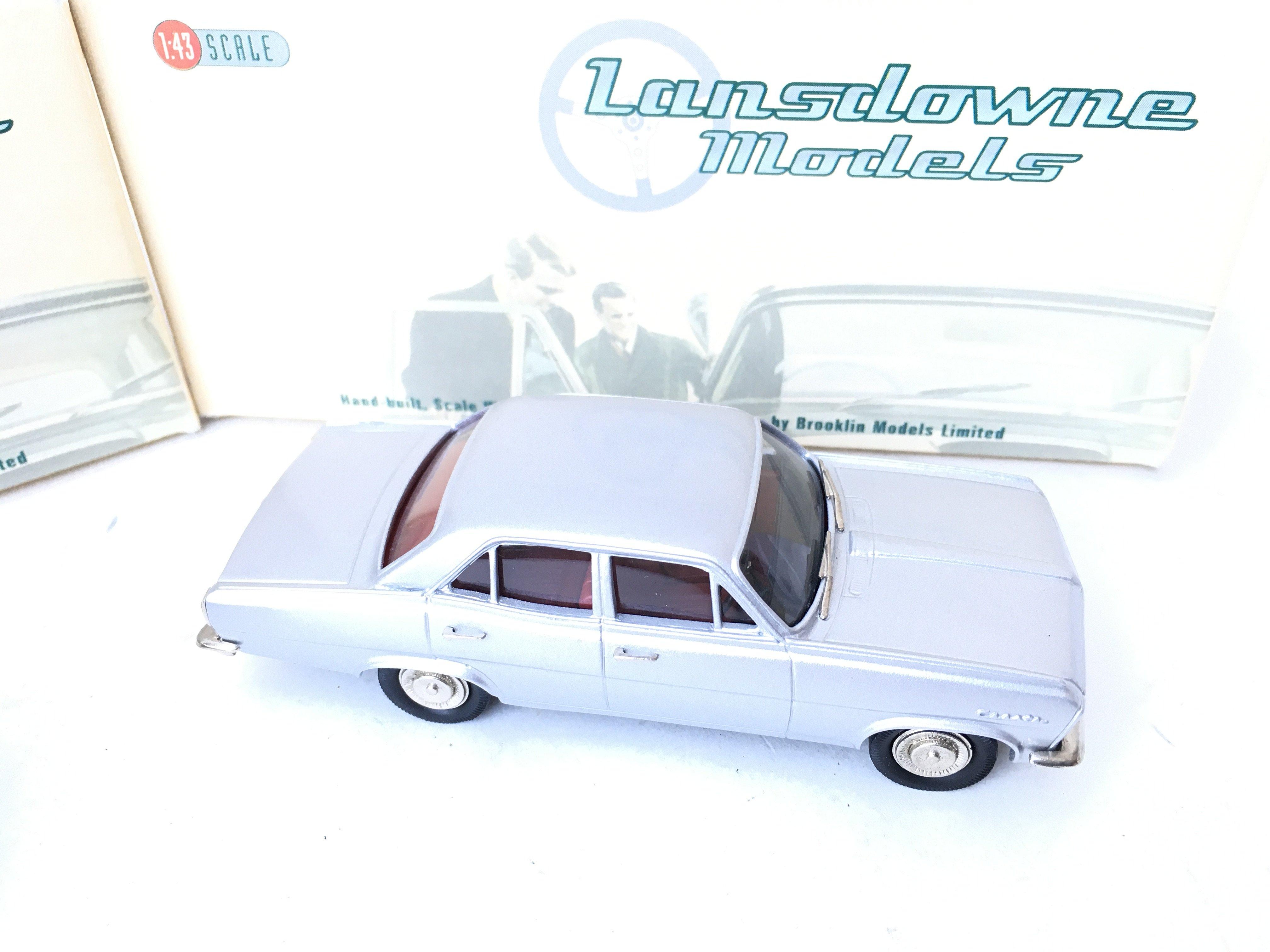 3 X Lansdowne Models including LDM 36 1952 Morris Minor Series II. LDM 37 1949 Triumph 2000 Roadster - Image 4 of 4